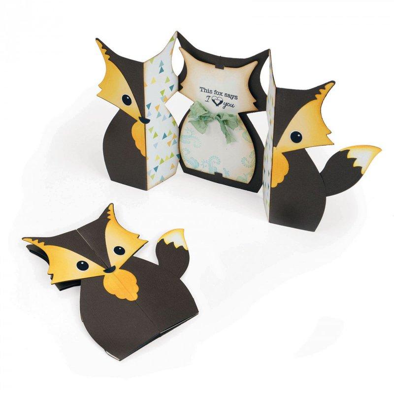 I Love You Fox Fold-a-Long Card