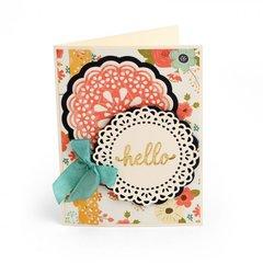 Hello Doilies Card