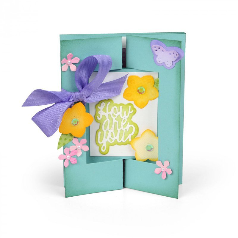 How Are You? Gatefold Card