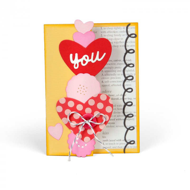 Love You Half Card