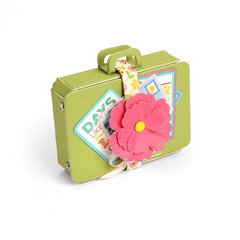 Flowery Suitcase
