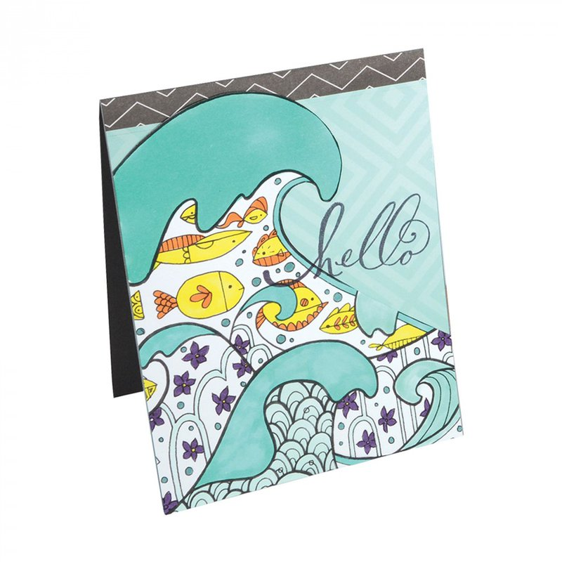 New Sizzix Coloring Books