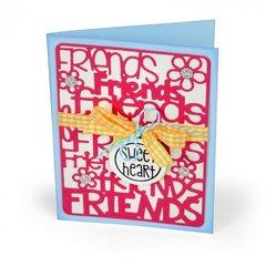 Sweet Heart Friends Card