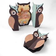 Happy Fall Y'all Owl Fold-a-Long Card