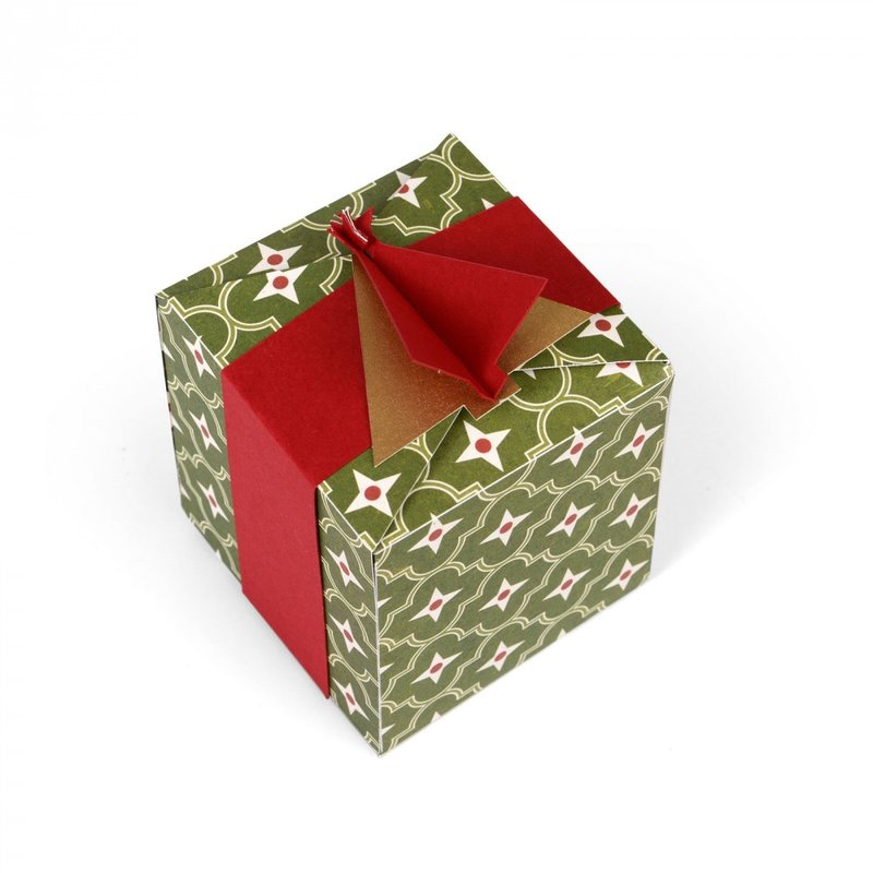 Christmas Tree Gift Box #2