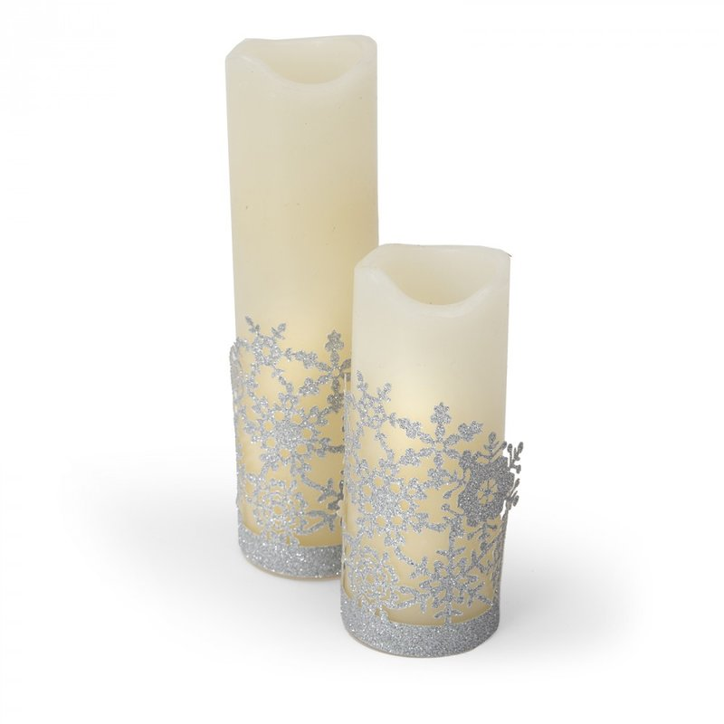 Snowflake Candle Wrapper