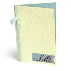 Embossed Hello Card by Cara Mariano for Sizzix