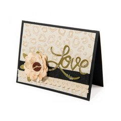 Love Animal Print Card
