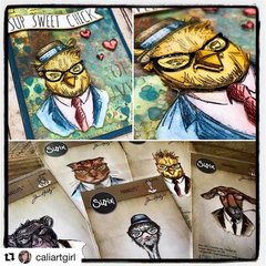 New Tim Holtz Hipster Dies from Sizzix