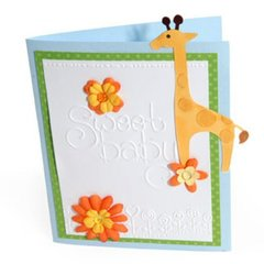 Sweet Baby Giraffe Card by Deena Ziegler