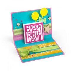 Happy Birthday Drop-Ins Card #2