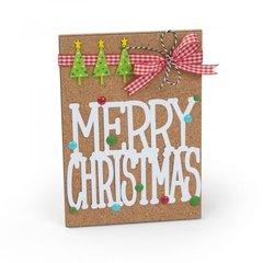 Merry Christmas Corkboard