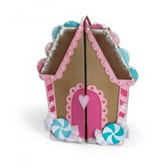 Gingerbread House Fold-a-Long Card