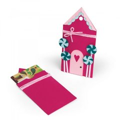 Gingerbread House Gift Card Holder
