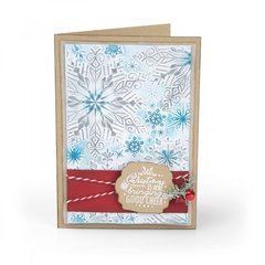 Winter Snowflakes Card #2