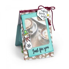 Making Spirits Bright Gift Card Holder