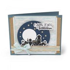 Little Town of Bethlehem Card