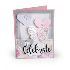 Let's Celebrate Butterfly Card