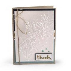 Flower Heart Doodle Card
