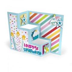 Birthday Shutter Card #2