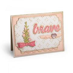 Brave Flower Card