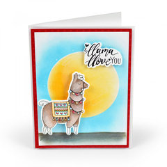 Save   I Llama Love You Card