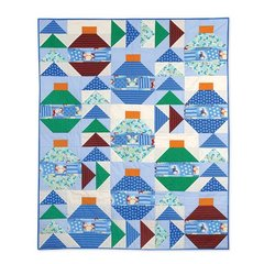 It's Christmas Everywhere Quilt by Cheryl Adams