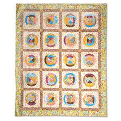 Circle Quilt by  Cheryl Adam, Guest Quilter