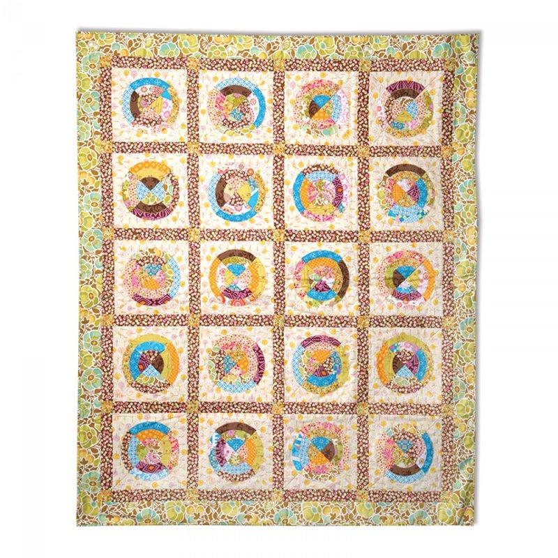 Circles Quilt #2 by Cheryl Adam