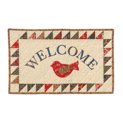 Welcome Wall Hanging by Linda Nitzen