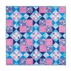 Stars & Squares Quilt by Cheryl Adam