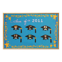 Graduation Bulletin Board