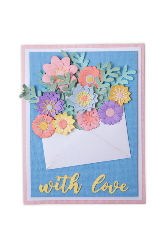 Flowers with Envelope