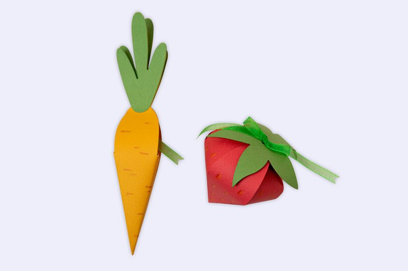Carrot and Stawberry Box