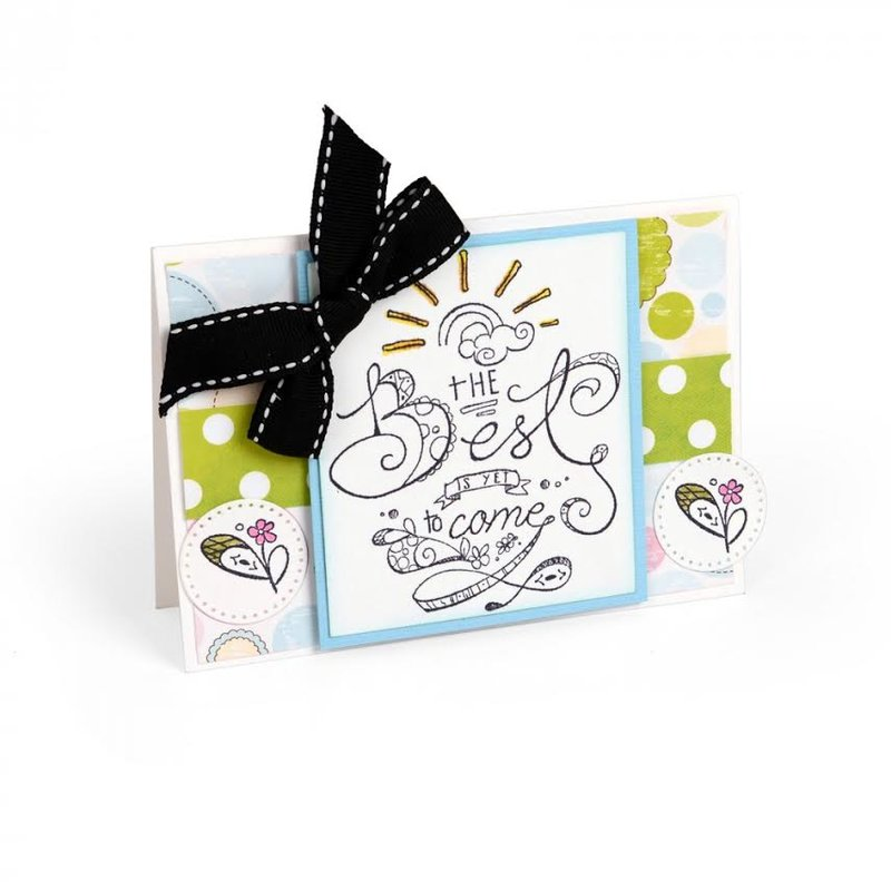 Some inspiration for what you could make with the Amazing 108 Pc Card Making Bundle from Sizzix