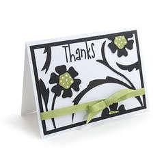 Thanks Flower Card