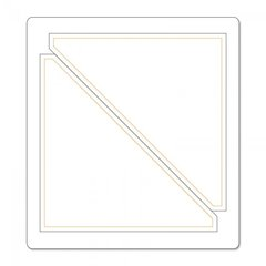 Sizzix Half Square Triangle Quilting Die