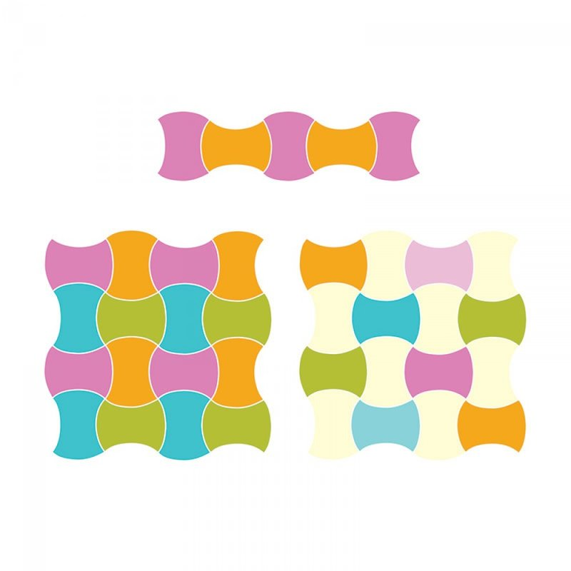 Sizzix Apple Core Quilting Die Configurations