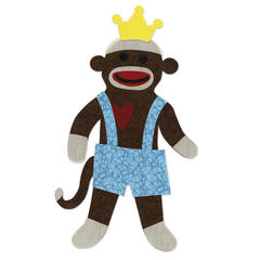 Sock Monkey King