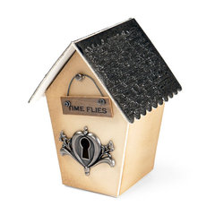 Time Flies Birdhouse by Beth Reames