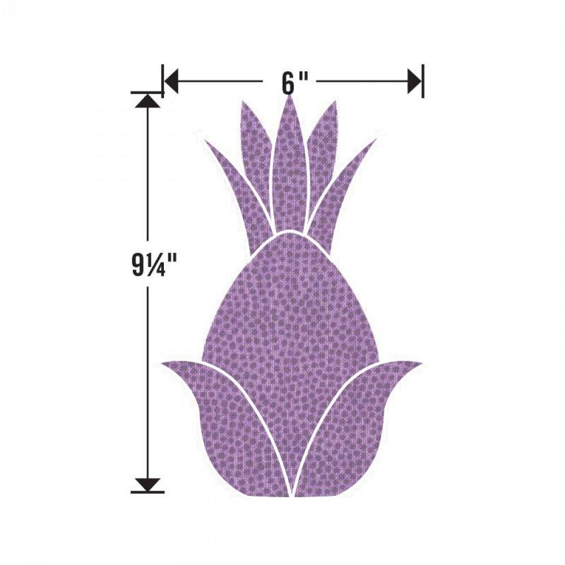 Sizzix Bigz L Die Pineapple Dimensions