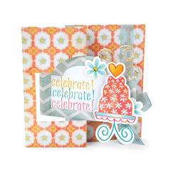 Celebrate Flip-It Card from Debi Adams