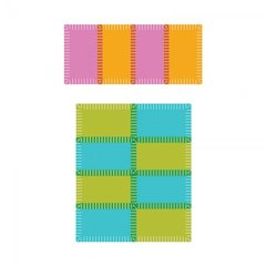 Sizzix Rectangle and Square Rag Quilting Dies