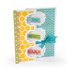 Hope-Joy-Love Triple Flip Its Card by Debi Adams