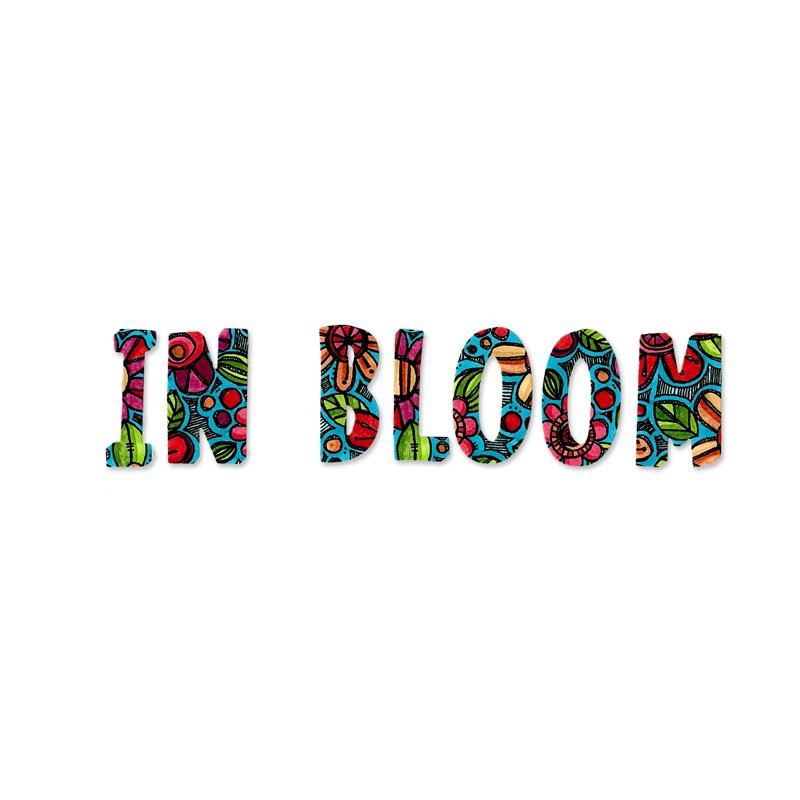 In Bloom Alphabet