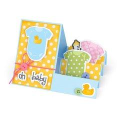 Oh, Baby Triplits Card