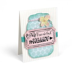 With a Thankful Heart Card