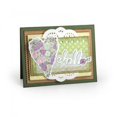 Hello featuring new In Bloom Coloring Stickers from Jen Long for Sizzix