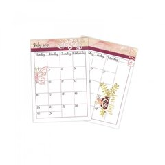 Create Your Own Wedding Calendar Pages