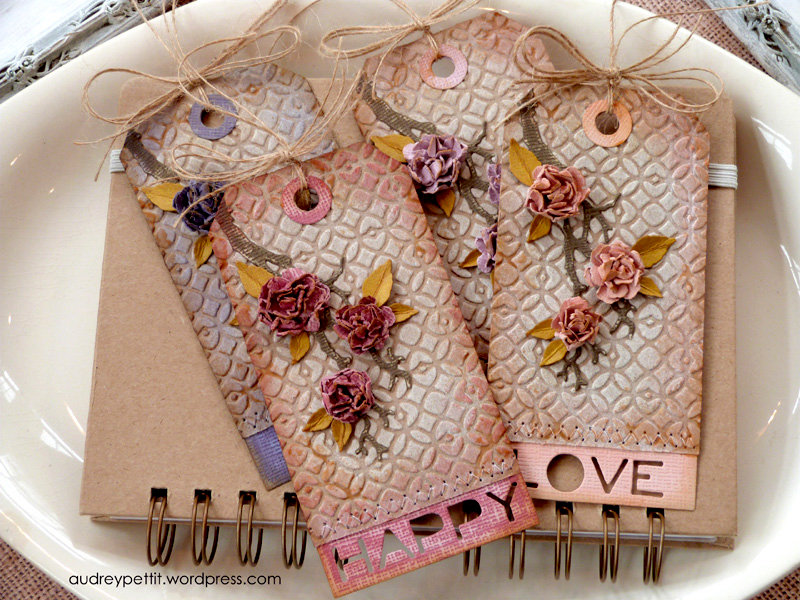 DIY Tags from Audrey Pettit for Sizzix